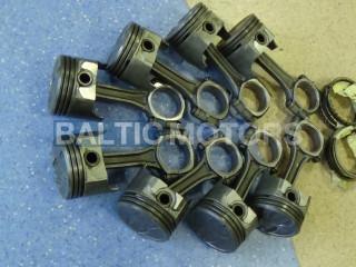MERCRUISER Conrods+Pistons+Rings 614-8164T  9716T1 75609