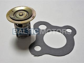 Thermostat 60° C (140° F) kit  Mercruiser 4 & 6-Cyl. Inline, Volvo Penta, OMC V8-7.4, 8.1L  59078Q3; 3853983