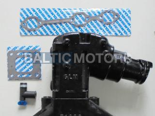 4.3L V6 1998 & UP Mercruiser  Exhaust manifold    864612T01; 99746A17