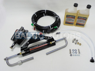 Hydraulic steering system for outboards up to 150HP