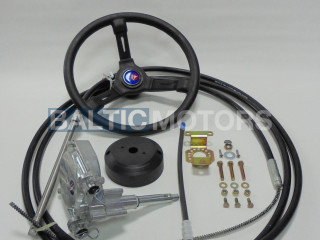 Inboard mechanical steering system