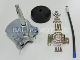 Mechanical steering helm