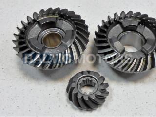 Gear set Yamaha F9.9 / F15 / F20 / 9.9 / 15 HP, 63V-45551-00-00; 6E7-45560-01-00 ;  6E7-45571-00-00