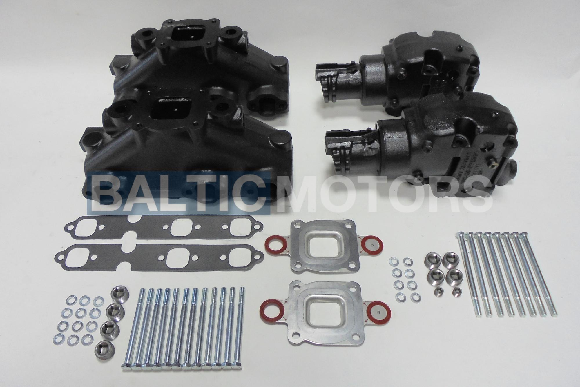 gasket Mercury Mercruiser V8 GM 5.0 5.7 305 350 Exhaust Manifold DRY JOINT 2002