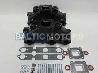 Mercruiser V6-4.3L Dry Joint Exhaust manifolds, 2 sets  864612T01