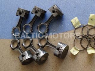 MERCRUISER 4.3L V6 Vortec - Conrods 811839T01+Pistons 835001T+Rings 8018611